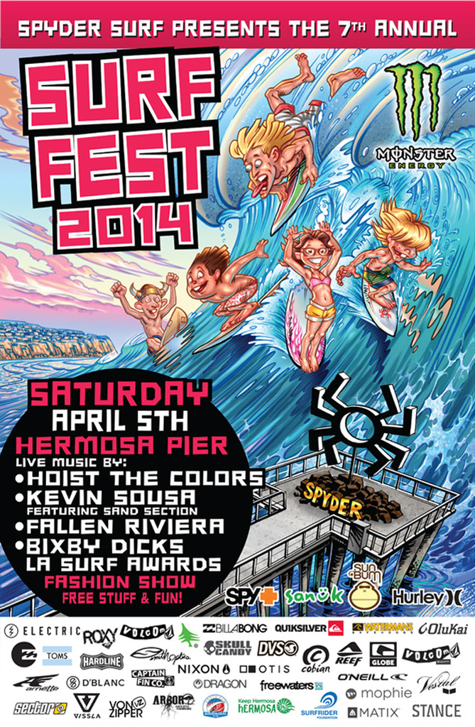 Surf_Fest_Poster_print ELECTRIC